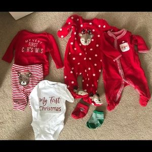 Newborn Christmas lot